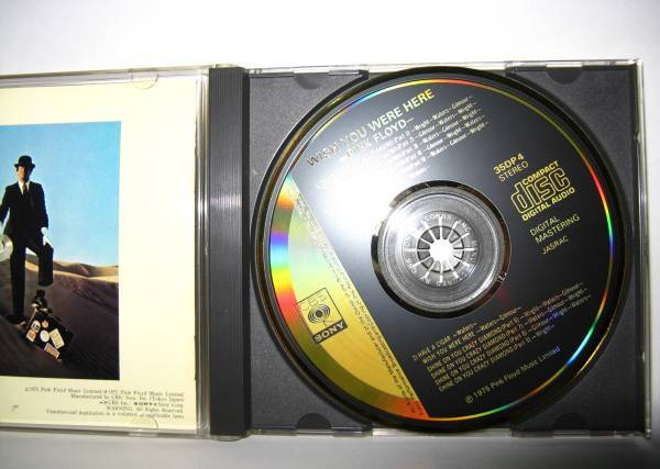 Pink Floyd Wish - You Were Here (Japan 35dp-4, gold face, 1st issue)