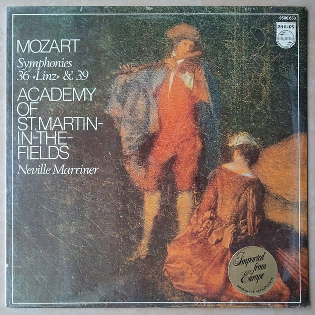 Sealed/Philips/Marriner/Mozart - Symphonies Nos. 36 & 39