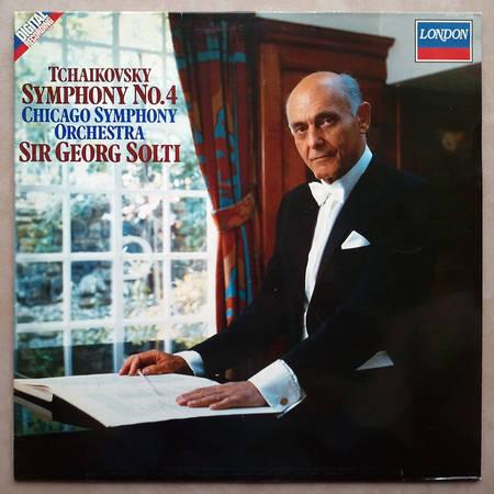 London Digital/Solti/Tchaikovsky - Symphony No.4 / NM