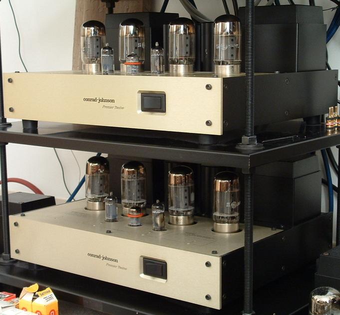 Conrad-Johnson Premier 12 Pair of classic tubed monoblock amplifiers