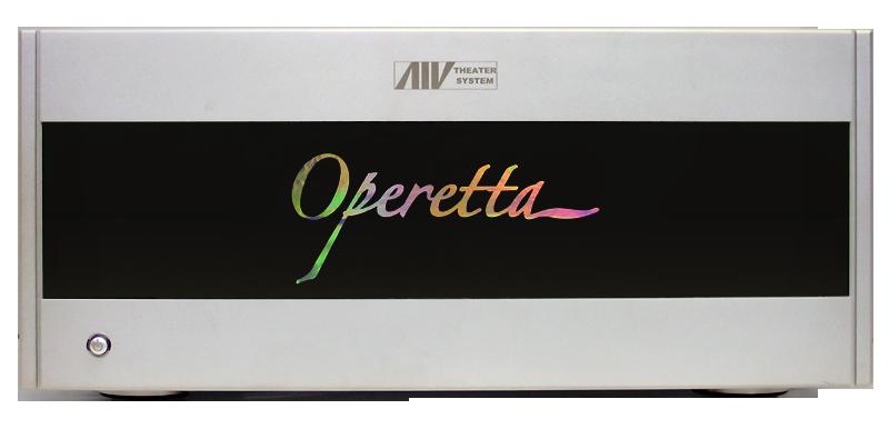 Jaton AP2140A-S Operetta 2 Channel Modular Amplifier