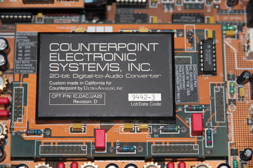 Counterpoint DA-10A D/A convertor, Nice condition!