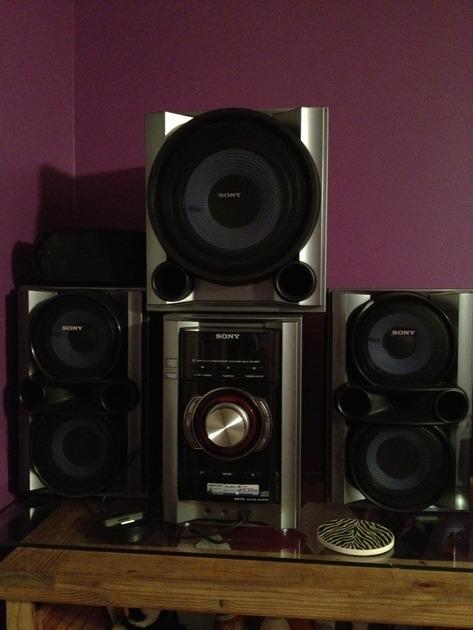 Sony MHC-EC89P Stereo System