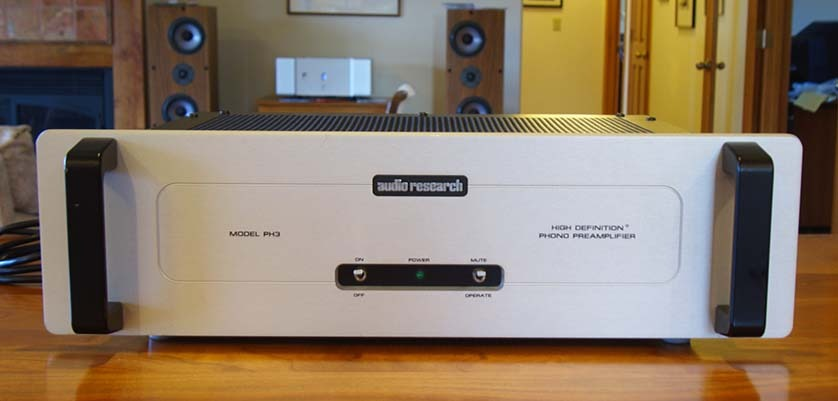 Audio Research Corp. PH3 Phono preamp For mc and mm cartridges