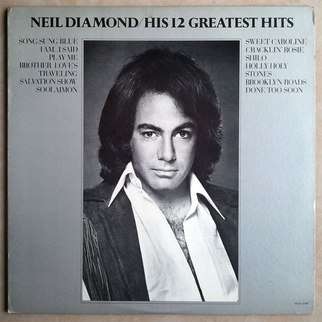 Neil Diamond -  - His 12 Greatest Hits / EX