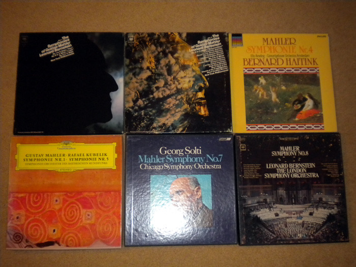 21 Lp Gustav Mahler, Classical - Composer Lot, Exc. Cond. imports No Reserve