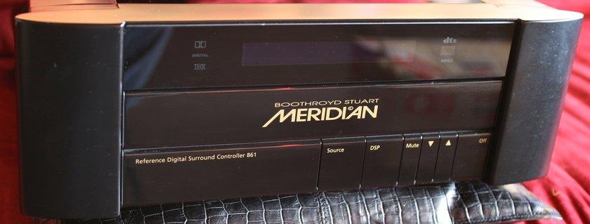 Meridian 861 v4.2 Referance Processing!!!