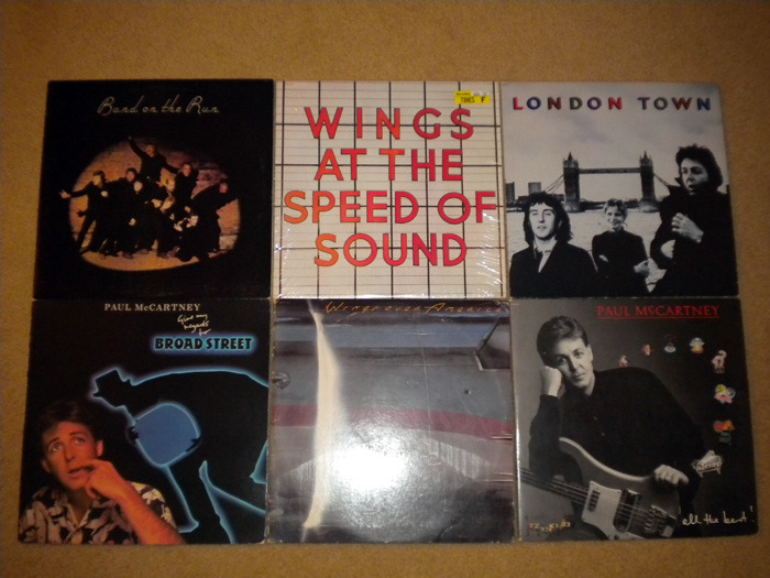 9 Lp Paul McCartney & The Wings Lot - Exc. Cond. No Reserve