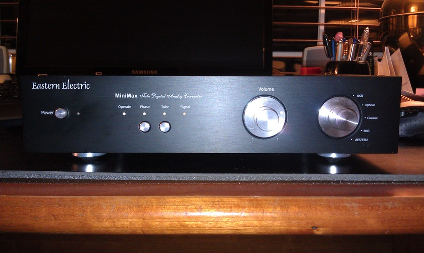 Eastern electric  Mini Max Dac amazing dac with bot tube and ss