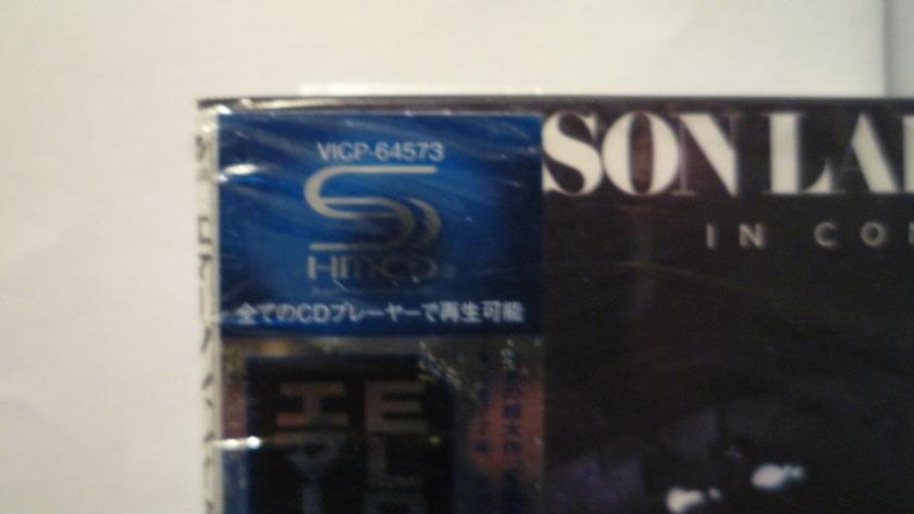 EMERSON LAKE & PALMER - IN CONCERT SHM-CD   JAPAN