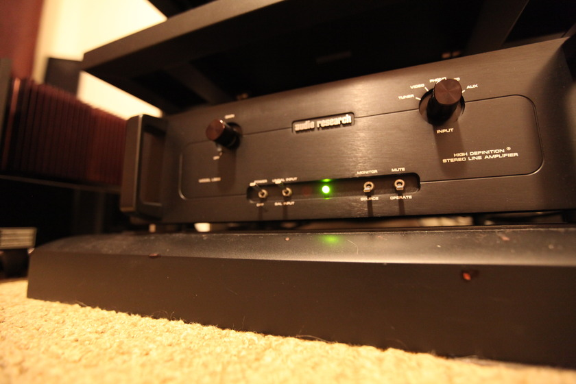 Audio Research LS22 black beauty-nice