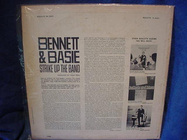 Bennett & Basie  - Strike Up the Band  Roulette SR-25231