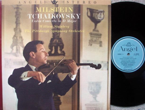 EMI Angel Blue / MILSTEIN, - Tchaikovsky Violin Concerto, NM!