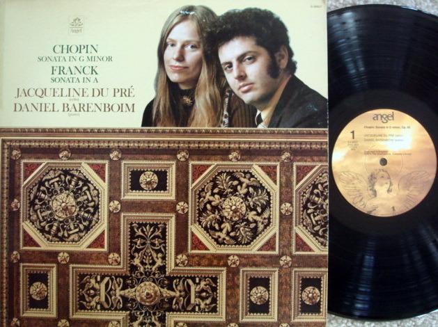 EMI Angel / DU PRE-BARENBOIM, - Chopin-Franck Cello Sonatas, NM!