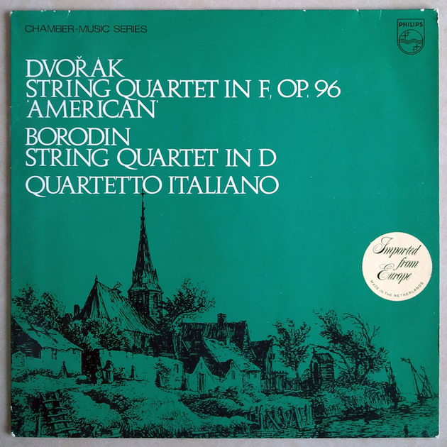 Philips/Quartetto Italiano/Dvorak - & Borodin String Quartets / NM