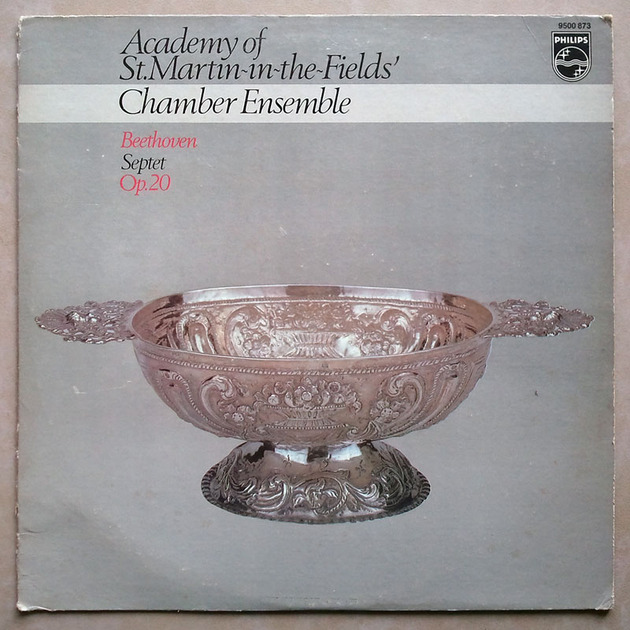 Philips/Beethoven - Septet Op.20 / Academy of St.Martin-in-the-fields' Chamber Ensemble / NM
