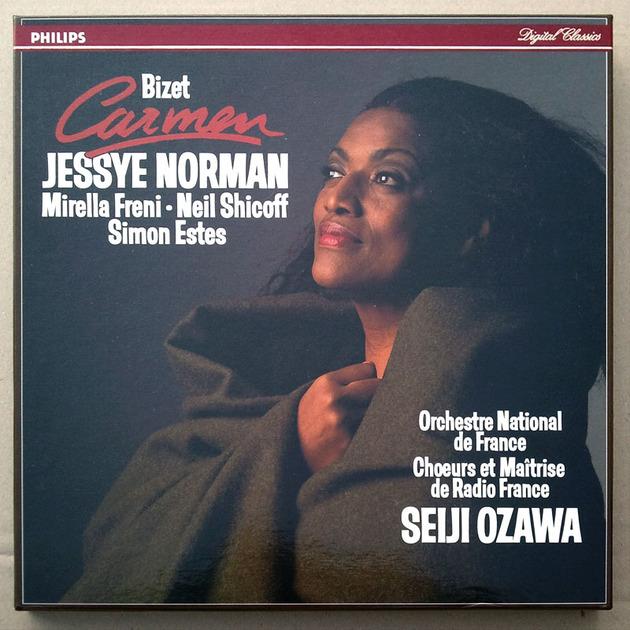 Philips Digital Classics/Ozawa/Bizet - Carmen / 3-LP box set / NM