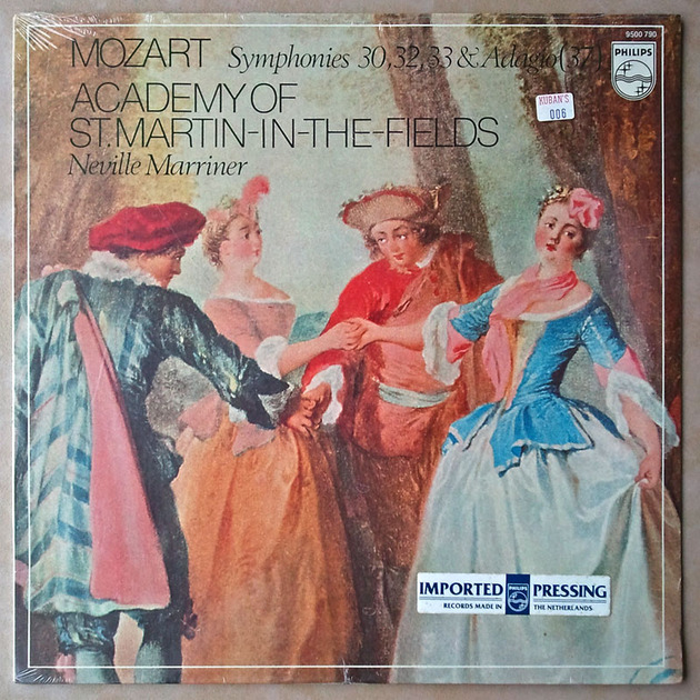 Sealed/Philips/Marriner/Mozart - Symphonies Nos. 30, 32, 33, 37