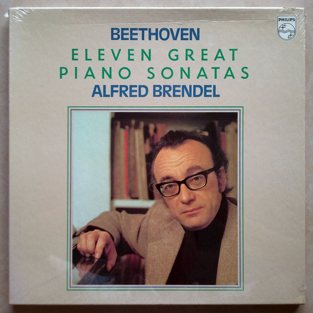 Sealed/Philips/Brendel/Beethoven - Eleven Great Piano Sonatas / 4-LP Box Set