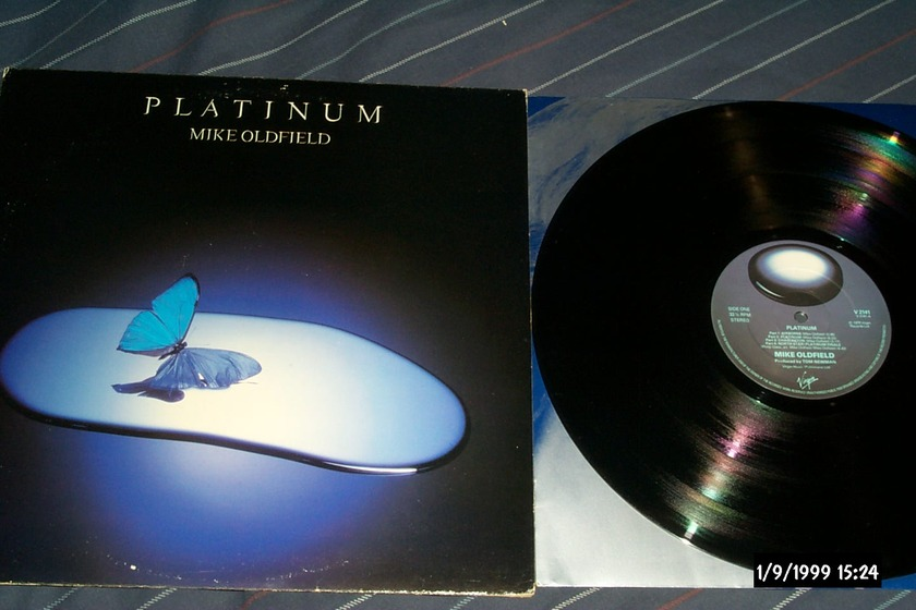Mike Oldfield - Platinum UK lp nm
