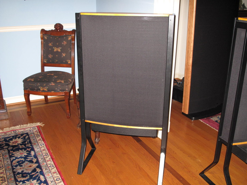 Quad ESL63 USA Monitors with Arcici stands