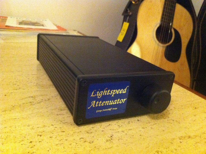 Light Speed George Hi-Fi Lightspeed Attenuator Stereophile Class B !!! Best Passive Preamp