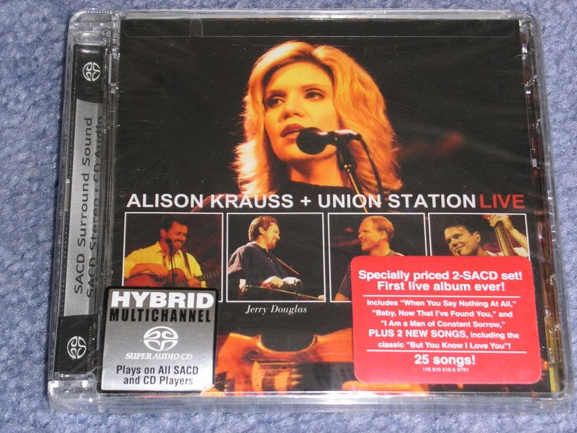 Alison Krauss - LIVE  -- Factory sealed SACD