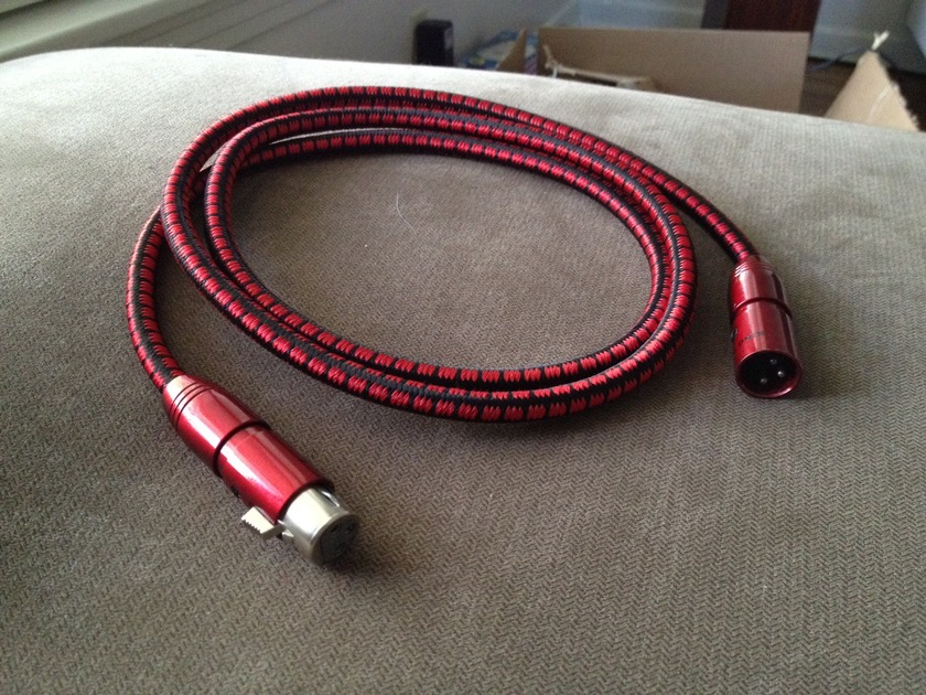 Audioquest King Cobra XLR 1.5m *Single Cable* FREE SHIPPING