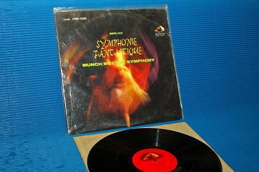 """BERLIOZ/Munch -  - """"Symphonie Fantastique"""" -  RCA 'Shaded Dog' 1962"""