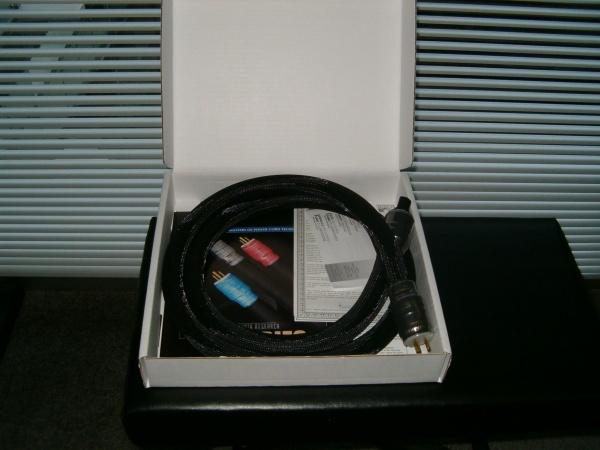 SHUNYATA BLACK MAMBA CX POWER CABLE