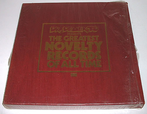Dr. Demento - GREATEST NOVELTY RECORDS OF ALL TIME - 6 LP box set - SEALED