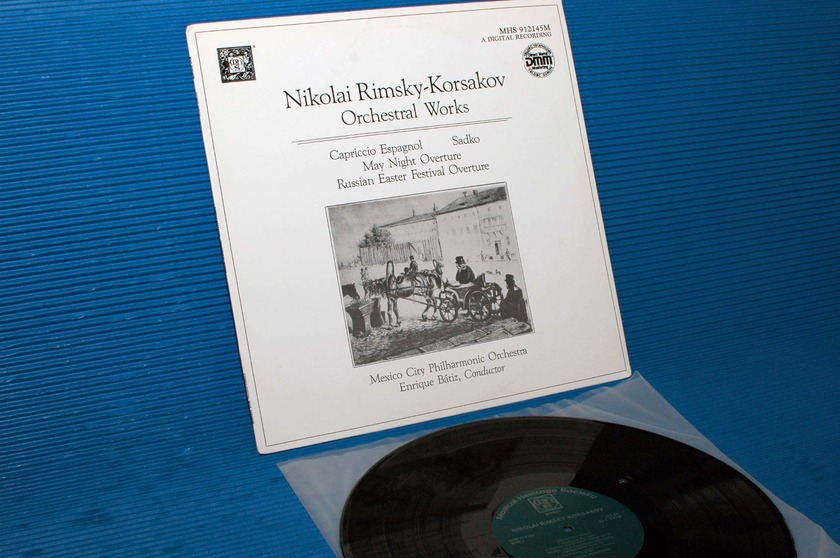 "RIMSKY-KORSAKOV/Batiz -  - ""Orchestral Works"" -  Musical Heritage Society DMM"