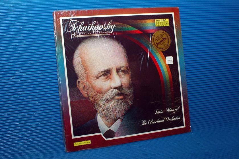 "TCHAIKOVSKY/Maazel - - ""Symphony No 4"" -  Telarc 1979 TAS list Sealed"