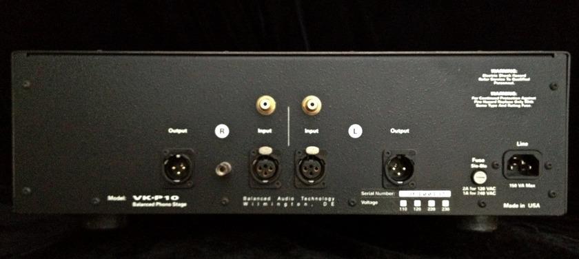 Balanced Audio Technology VK-P10 Tube Phono Pre-amp Stage