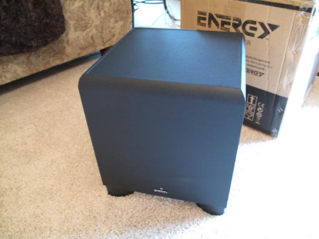 Energy EW-100 Subwoofer, 225-watt, 10-inch,  like new!