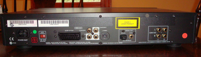 ARCAM DV-88 DVD/CD/HDCD Player FREE SHIPPING