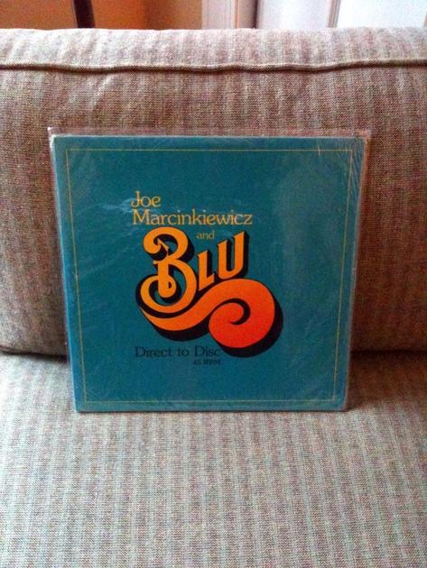 Joe Marcinkiewicz & Blu - Sealed Direct to Disc Miller and Kreisel Pressing Great Jazz Audiophile LP