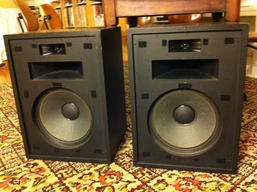 Klipsch Heresy I (1983) Speakers in Factory Black