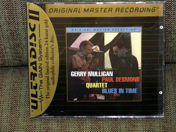 Mfsl Gerry Mulligan - Blues in Time - UDCD - Ultradisc sealed, perfect