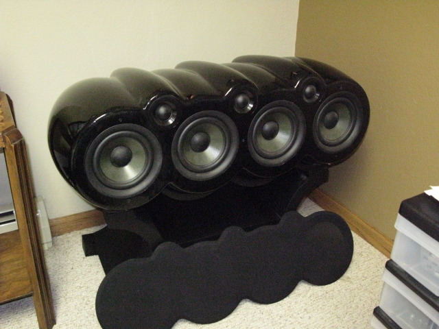 Earthquake Sound Titan Rhea 200lb Center Channel..... orig. $7500