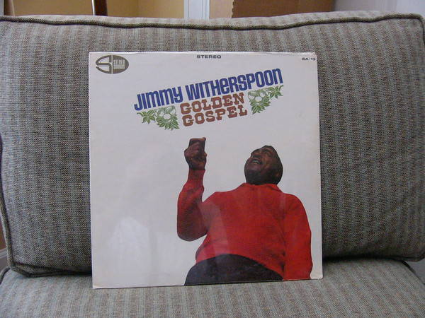 Jimmy Witherspoon - Golden Gospel Sealed sa-13 original sealed lp