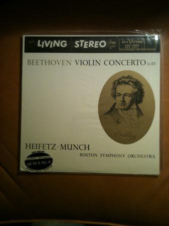 Rca Living Stereo - Heifetz/Munch 200gm beethoven concerto in d sealed