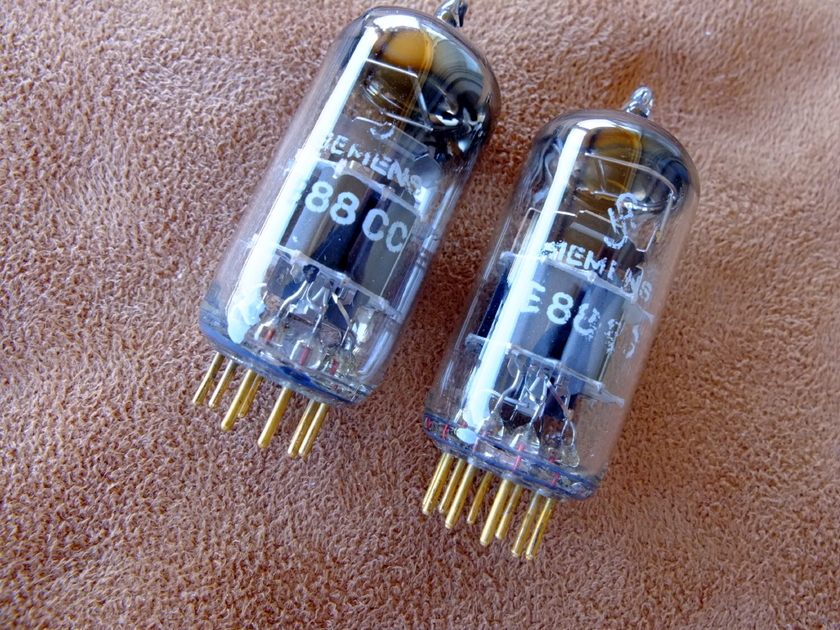 Siemens E88CC / 6922 D getter - W Germany NOS late 50's