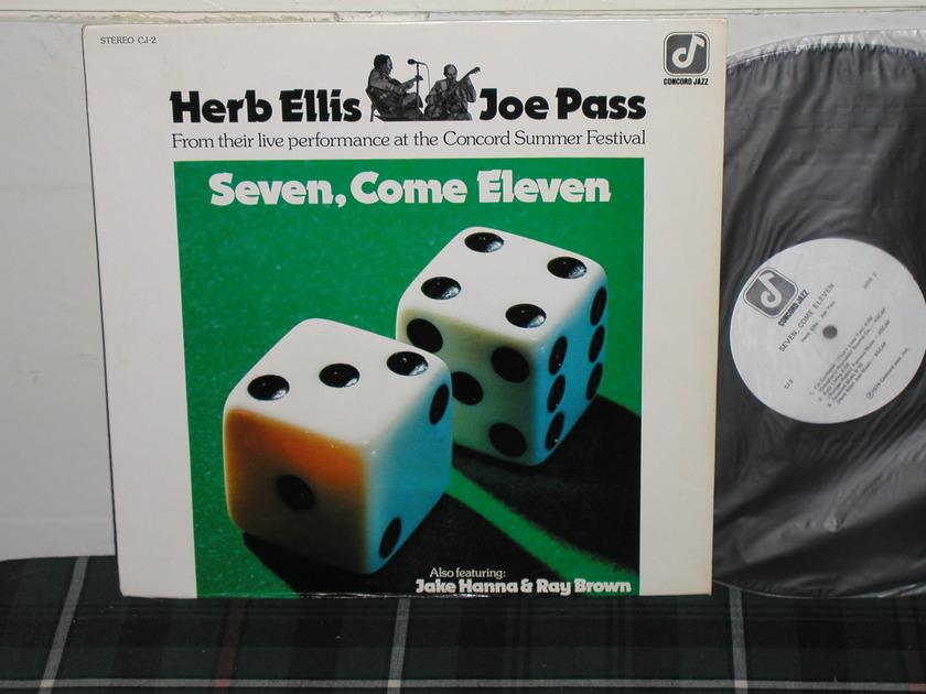 Ellis/Pass/Hanna/Brown - Seven,Come Eleven  Concord 1st press CJ-2.