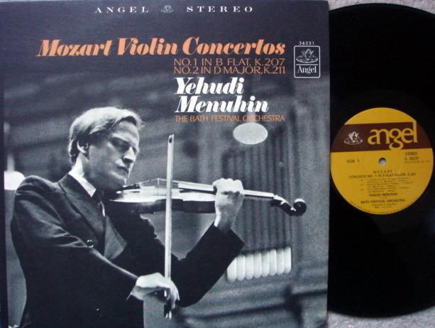 EMI Angel / MENUHIN, - Mozart Violin Concertos No.1 & 2, MINT!