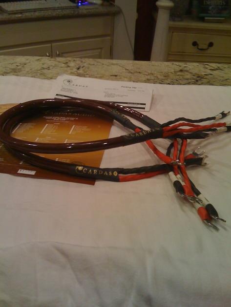 Cardas Golden Cross Biwire 1 meter speaker cable