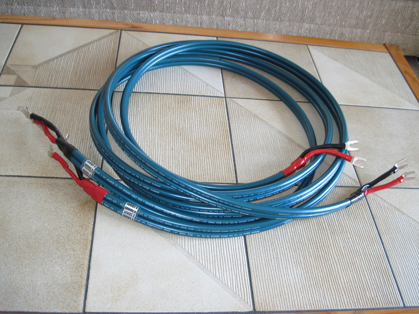 WIREWORLD   ATLANTIS III++ Series 5 3 Meter Loudspeaker Cables with Spades