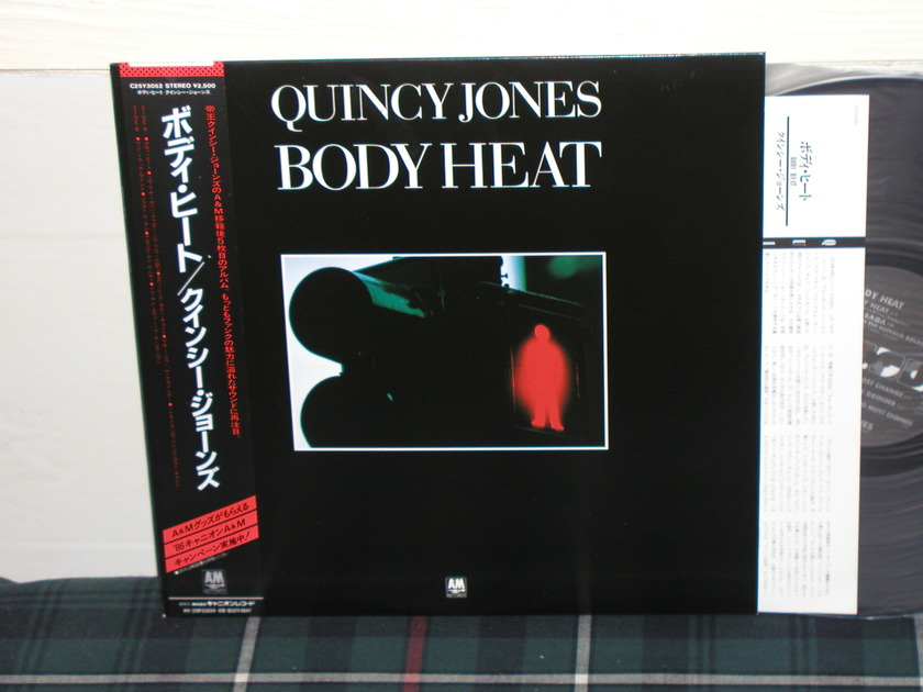 Quincy Jones - Body Heat (Pics) HQ JPN import lp w/obi (Ltd.Ed.)