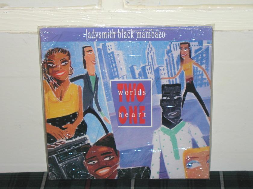 Ladysmith Black Mambazo - Two Worlds One Heart (Pics) Still in Shrink as new