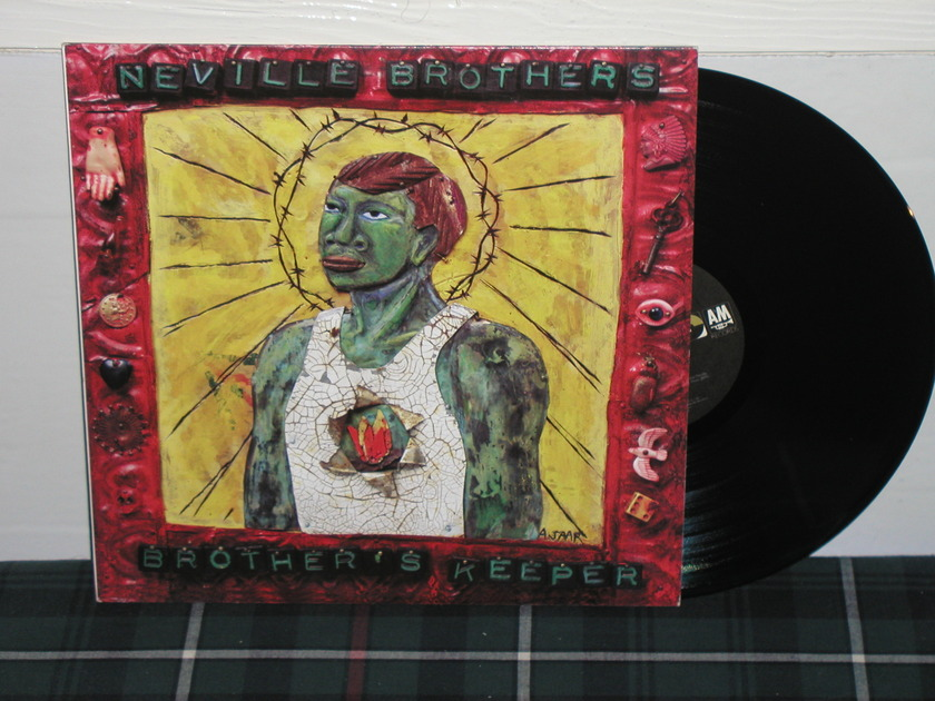 Neville Brothers - Brothers Keeper (Pics) A&M from 1990